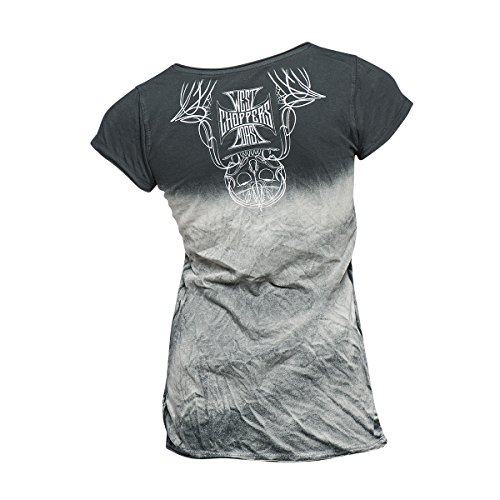 West Coast Choppers Ladies T-Shirt Saint Tee Black