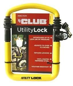 The Club UTL810 Yellow Utility Lock