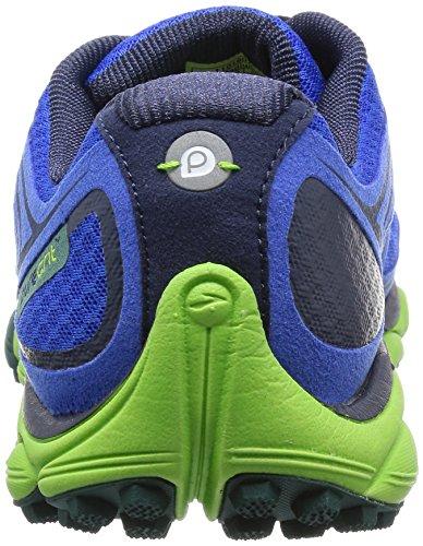 BrooksPuregrit 3 Men - Scarpe Running Uomo Blu (ElectricBlue/Greenery/JuneBug)