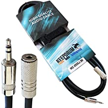 Keepdrum MC -099X J 3m cavo di prolunga 3,5mm Stereo