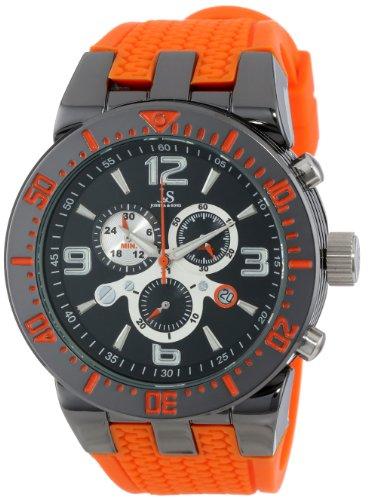 Joshua & Sons Herren-Armbanduhr Analog Quarz JS55OR