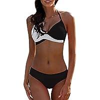 CheChury Donna Costume da Bagno Push Up Imbottito Reggiseno Bikini Due Pezzi Bikini Sexy Spiaggia Beachwear Swimwear…