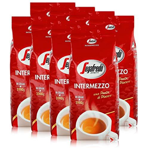 Segafredo Kaffee Espresso - Intermezzo, 8x1000g Bohnen