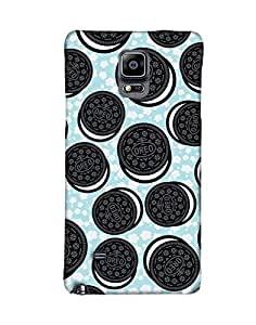 Pick Pattern Back Cover for Samsung Galaxy Note 4