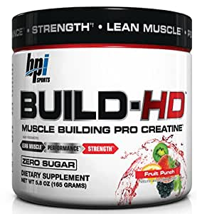 BPI Sports Build-HD 165g- melon d'eau