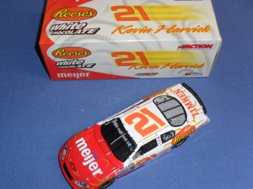 2004-nascar-action-racing-collectibles-kevin-harvick-21-reeses-white-chocolate-meijer-chevy-monte-ca