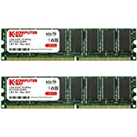 Komputerbay 2GB (2x 1GB) DDR DIMM (184 PIN) 333Mhz PC2700 DDR333 MEMORIA DESKTOP