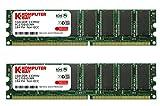 Komputerbay 2GB (2X1GB) DDR DIMM (184 PIN) 333Mhz PC2700 DESKTOP SPEICHER