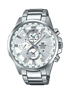 Casio Edifice–Reloj de pulsera analógico de cuarzo, Acero inoxidable, EFR-303D-7AVUEF de Casio