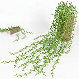NAttnJf Vid Artificial 1 Unid 82 cm Colgando Cadena Artificial de Perlas Vine Wedding Party Home...