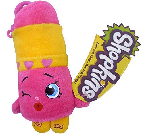 Shopkins Plush Bag Clip - Lippy Lips - Children's Accessories