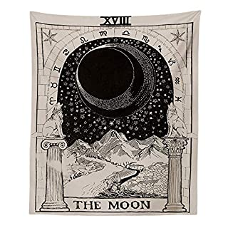 Spring Fever Decorative Astrology Divination Star Moon Sun Wall Hanging Tapestries Home Decor For Bedroom Living Room The Moon 39