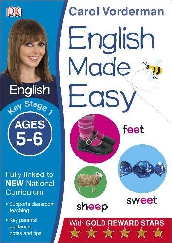 English Made Easy Ages 5-6 Key Stage 1 (Made Easy Workbooks)