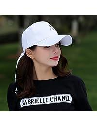 YXLMZ Señoras Mujeres Primavera Verano Sombreros Gorra de béisbol  Estudiante Cap en Casual Gorras de Visera 4306295fd20