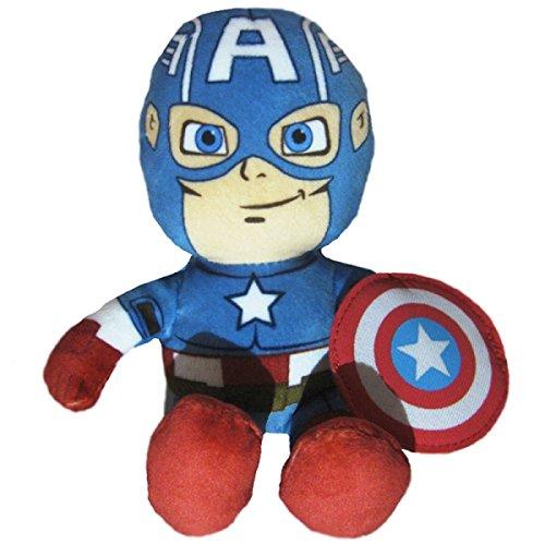 Peluche avengers capitan captain america 18 cm