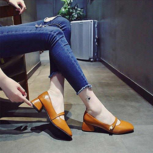 Escarpins Welldone2017 Inconnus, Chaussures À Talons Brunes Pour Femmes