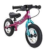 BIKESTAR Kinder Laufrad Lauflernrad Kinderrad für Mädchen ab 2-3 Jahre ★ 10 Zoll Sport Kinderlaufrad ★ Berry Türkis