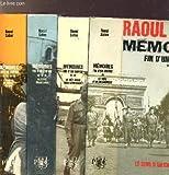 MEMOIRES FIN D'UN EMPIRE- 4 VOLUMES - TOMES I+II+III+IV - LE SENS D'UN ENGAGEMENT - LE VIET-MINH MON ADVERSAIRE - ALGERIE FRANCAISE - L'ALGERIE DE GAULLE ET MOI