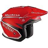 Hebo Montesa Classic II Casco, Rojo, Talla M