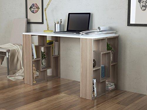 nova schreibtisch computertisch workstation f r home office in modernem design. Black Bedroom Furniture Sets. Home Design Ideas