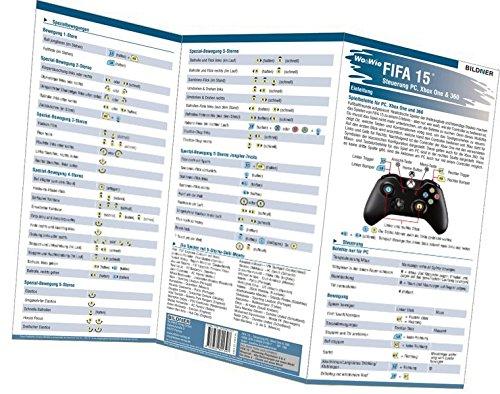 Preisvergleich Produktbild FIFA 15 - Alle 133 Spielersteuerungen groß auf einen Blick!: Für XBox 360, Xbox One und PC (Wo&Wie / Die schnelle Hilfe)