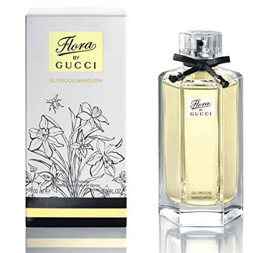 4e1a1783e1 Gucci Eau de Toilette Spray, Flora Glorious Mandarin, 3.4 Ounce