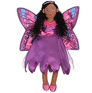 The puppet co - Marioneta de mano de hada-mariposa negra