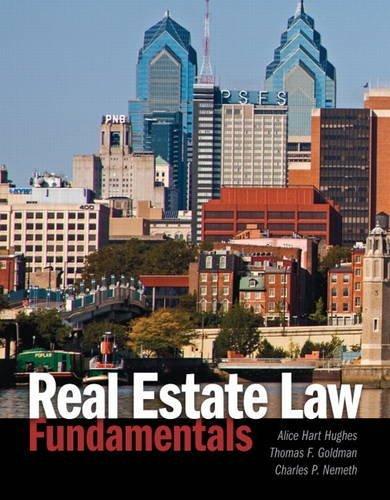 Portada del libro Real Estate Law Fundamentals by Alice Hart Hughes (2013-04-02)