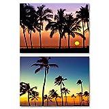Set 2 Quadro Su Tela - Canvas Palm - Best Reviews Guide