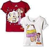 #9: Chhota Bheem Girls' T-Shirt (Pack of 2) (8904157860024) 5 - 6 Years