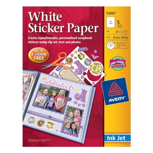 ink-jet-sticker-paper-with-cd-matte-white-8-1-2x11-5-pkg