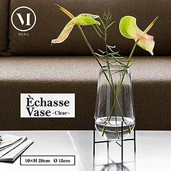 M Menu Echasse Vase rauchglas Theresa Arns