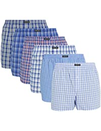 Lower East - American Style - Boxer Homme - lot de 6
