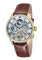 Thomas Earnshaw Herren-Armbanduhr Thomas Earnshaw Longitude Watch ES-8006-02 Analog Automatik Leder Braun ES-8006-02