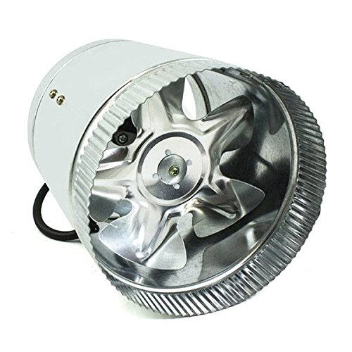 Duct Booster Fan - Aspiratore in Linea (Metal) 250mm