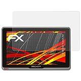 atFoliX Folie für Becker Transit.7sl Displayschutzfolie - 3 x FX-Antireflex-HD hochauflösende entspiegelnde Schutzfolie
