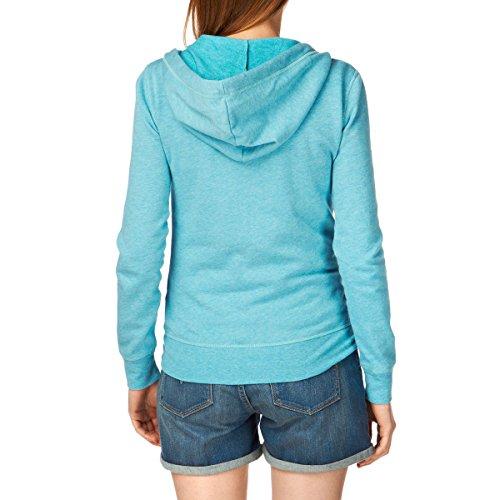 Vans Link Zip-Up - Pull - Manches longues - Femme Bleu - blue - caneel bay heather