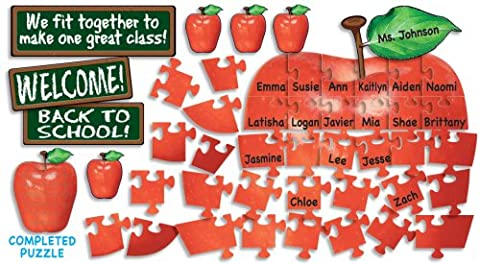 Welcome! Apple Puzzle Bulletin Board