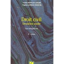 Droit civil, deuxième année : Les obligations