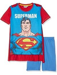 Superman Chicos Pijama mangas cortas - Azul