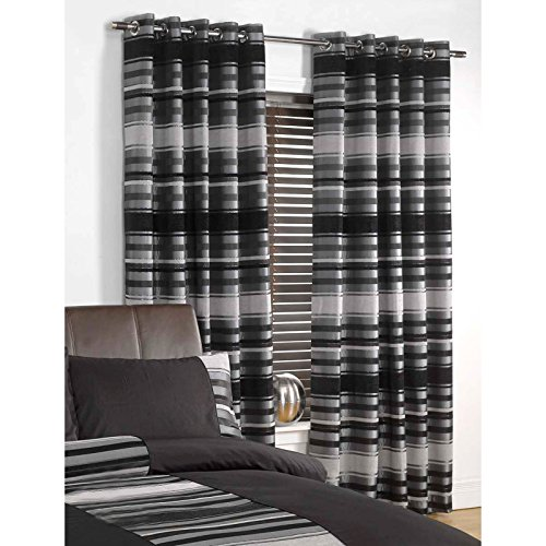 Living Room Curtains Stripe Amazoncouk