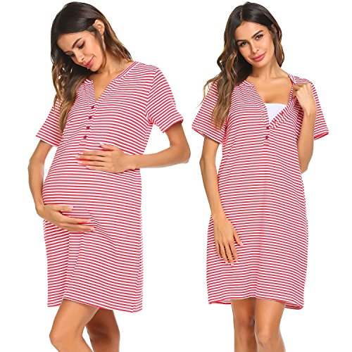 Unibelle Damen Umstandskleid Umstandsmoden Schwangerschaftskleider Maternity Kleid Brautkleid...