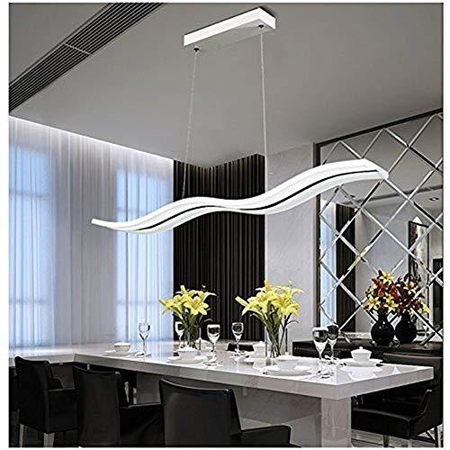 CKQ-KQ Pendelleuchten Moderne Acryl LED-Kronleuchter Länge 970mm Fernbedienung Electrodeless Dimming Wohnzimmer Esszimmer Bar Kreative Personalisierte Pendelleuchte