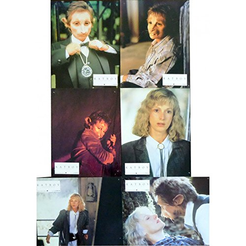 ratboy-french-lobby-cards-x6-9x12-1986-sondra-locke-robert-towshend
