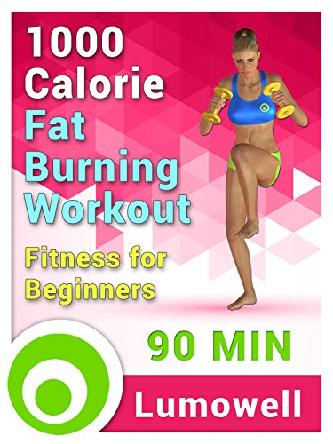 1000 Calorie Fat Burning Workout – Fitness for Beginners [OV]