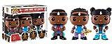 Funko - Figurine WWE - 3 Pack Big E Xavier Woods Kofi Kingston Pop 10cm - 0889698115414