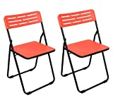 Cipla Plast Multipurpose Folding Plastic Chair - Red - Best Reviews Guide