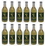 12x 500 ml Retsina Malamatina geharzter Weißwein aus Griechenland Spar Set 12 Flaschen Weiß Wein + 2 Probiersachets a 10 ml Olivenöl von Kreta gratis