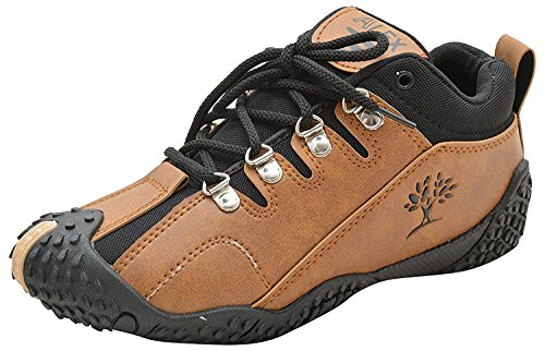 ALEX Boy's Brown Sports Shoes-11 Kids UK/India (28 EU)(FOOTLAND)