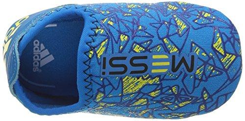 adidas Messi, Chaussures Bébé Marche Mixte Bébé Bleu (Solar Blue2/Night Grey/Bold Blue)